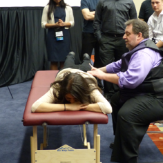 Osteopathic Manipulation demonstration by Dr. Cohn